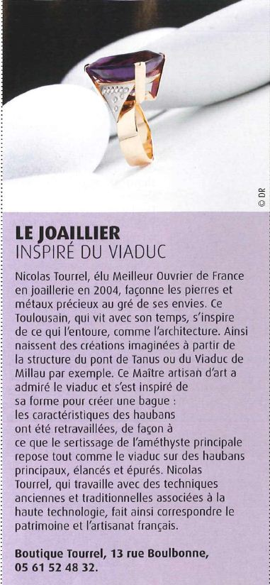 Nicolas Tourrel article Toulouse Mag - Septembre 2012